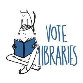 Vote Libraries 4 by Juana Medina