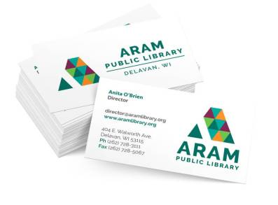 Aram Business Card Mockup