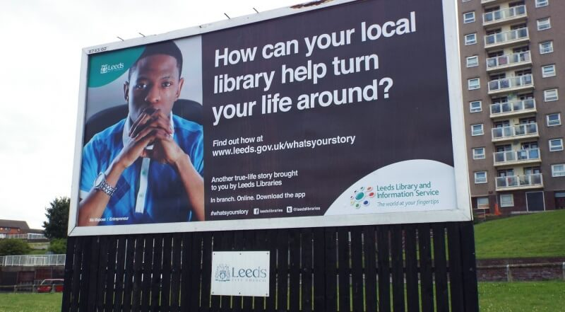 What's Your Story Billboard
