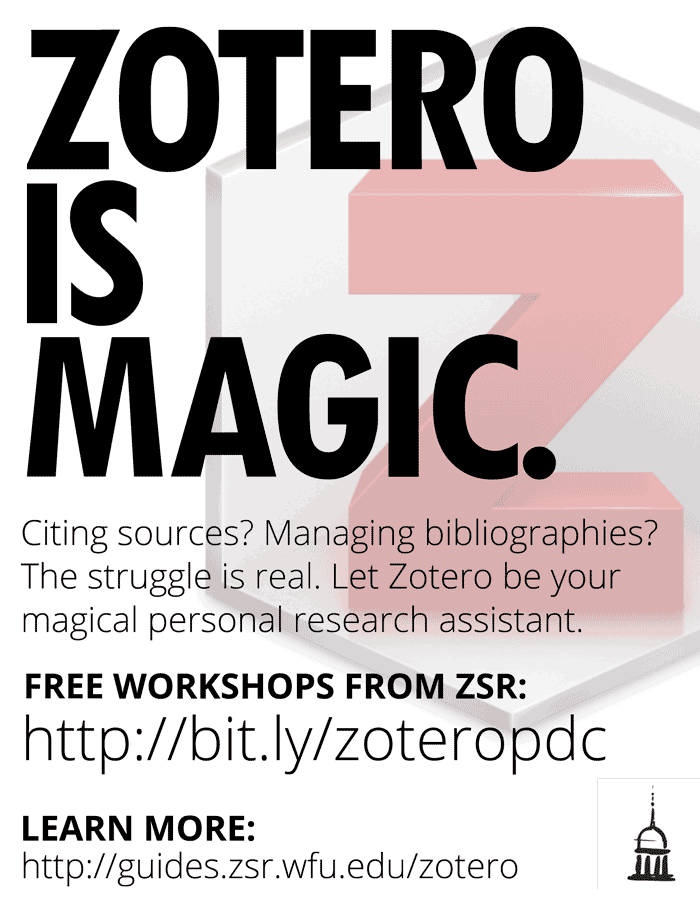 Zotero is Magic