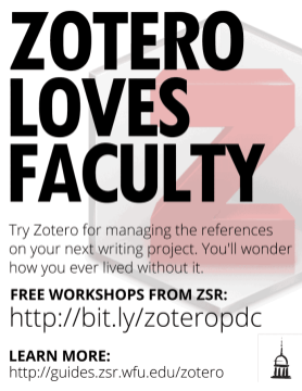 Zotero Loves Faculty