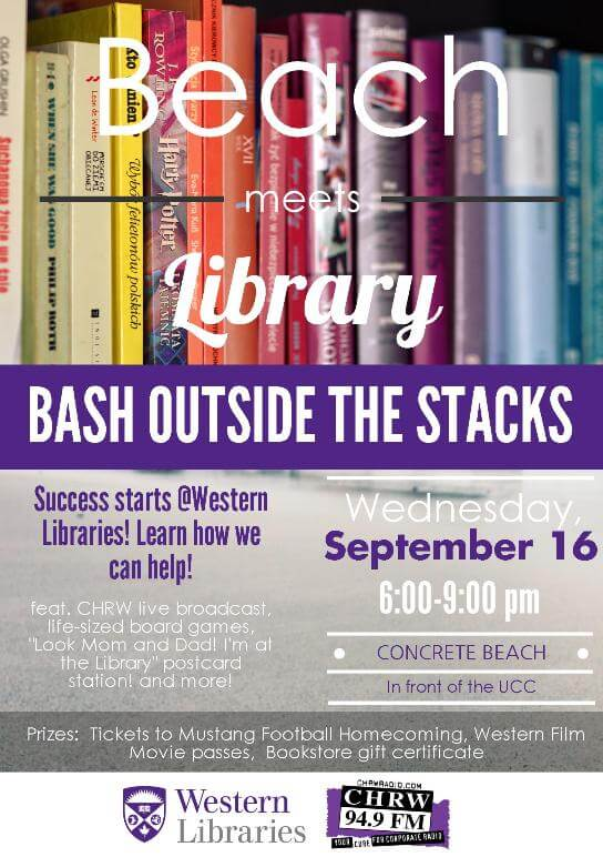 Bash Outside the Stacks - Western Libraries