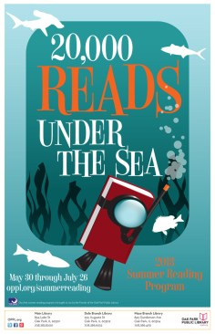 Summer Reading Program 4 - Under the Sea - Oak Park Library