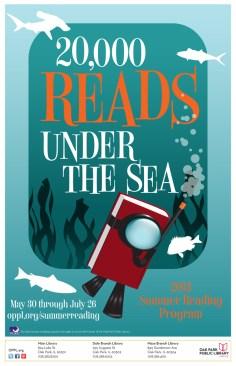 Summer Reading Program 4 - Under the Sea - Oak Park Library