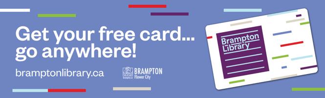 Brampton - get your free card