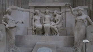 ukiran yang berada di Pantheon