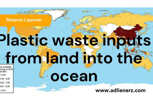 Plastik, Sampah Laut