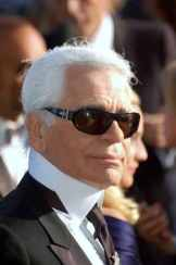Karl Lagerfeld, the artistic director of Chanel since 1983