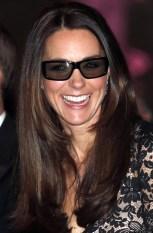 Catherine, Duchess of Cambridge wears 3D glasses