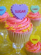 pink valentines day cupcakes4 lovers day cupcakes-f14283