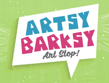 Artsy Barksy Art Stop San Antonio at the Paul Jolly Center for Pet Adoptions