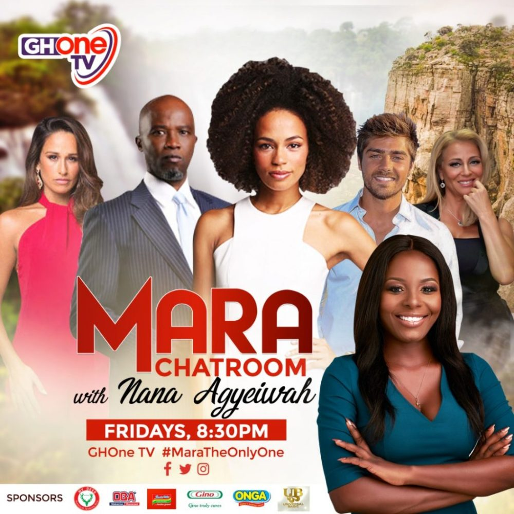 Nana Agyeiwah hosts 'Mara Chatroom' on GHOne TV