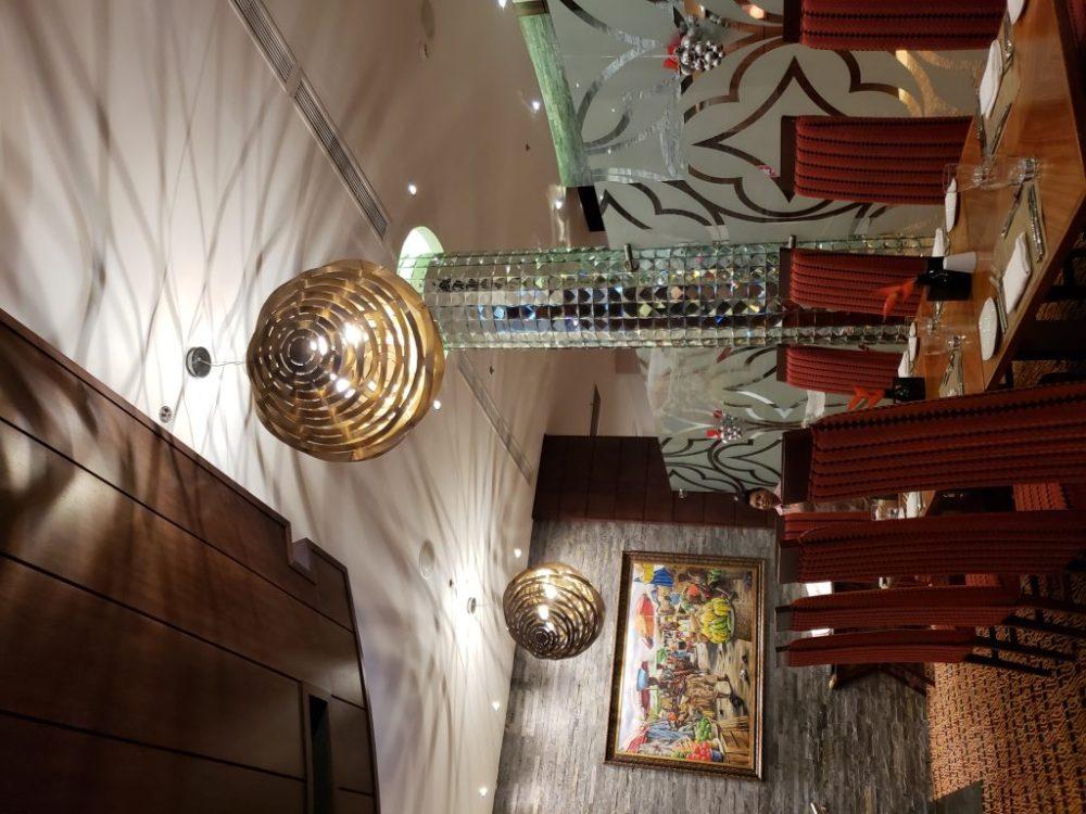 Beautiful dinning area of Accra Marriott Hotel
