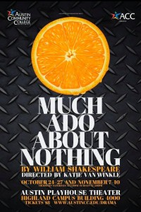 Much Ado About Nothing Flyer Orange Fruit