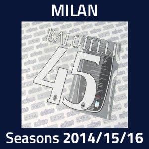 2014/15/16 Milan