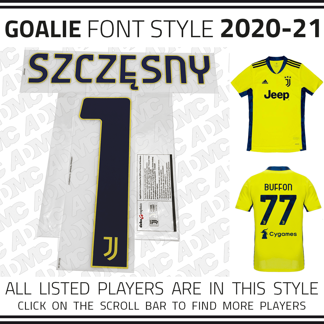 2020 21 Juventus Goalie Admc Llc