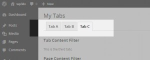 Create In-Page Tabs