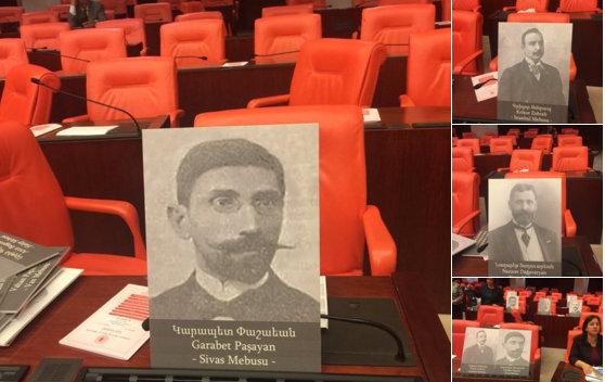 Paylan'dan 1915'te öldürülen Ermeni vekiller için Araştırma Önergesi