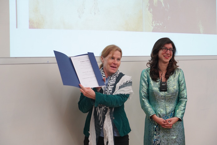 Talin Suciyan (sağda) FOTO: Heidi Brand