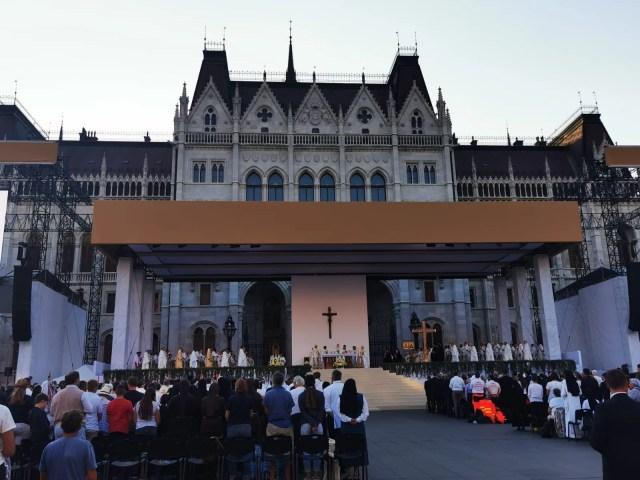 International Eucharistic Congress Mass on Sept. 11, 2021. EWTN