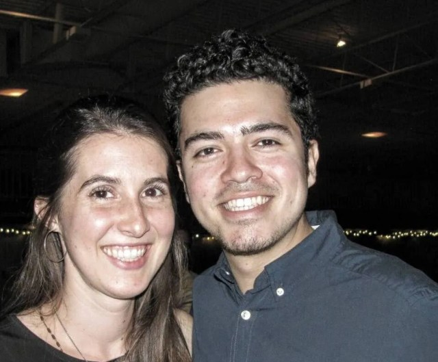 Hallie and Adriel Gonzalez.