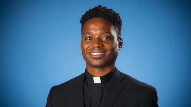 Father Patrick Saint-Jean, S.J. Creighton University