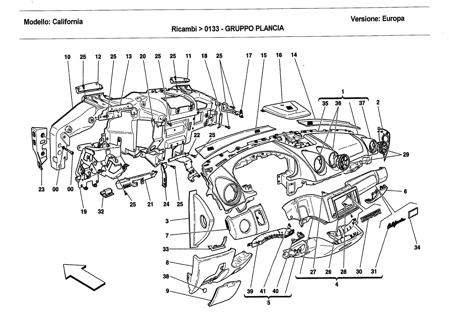 Ferrari Engine Diagram