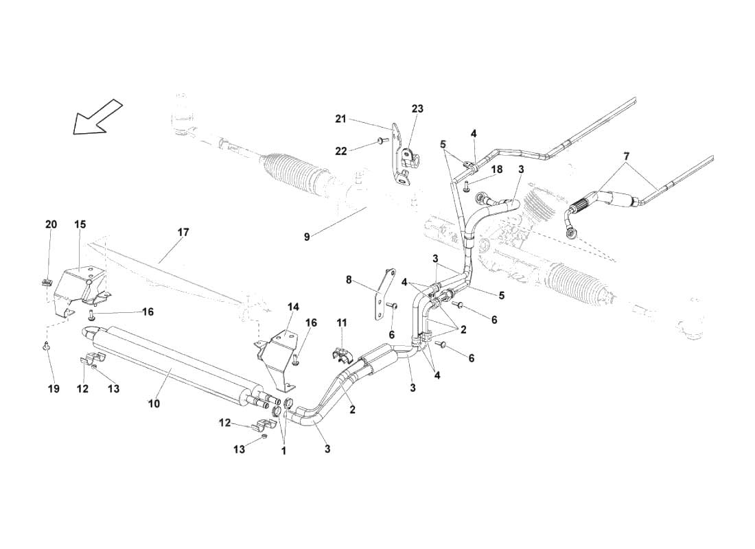 Service Manual Diagram For A Lamborghini Gallardo