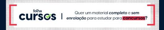 """CTA_rodape_folha_cursos Concurso IBGE com 6.500 vagas """"continua normalmente"""", diz Instituto"""
