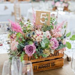 Quelle Fleurs Pour La Decoration De Table De Son Mariage Blog