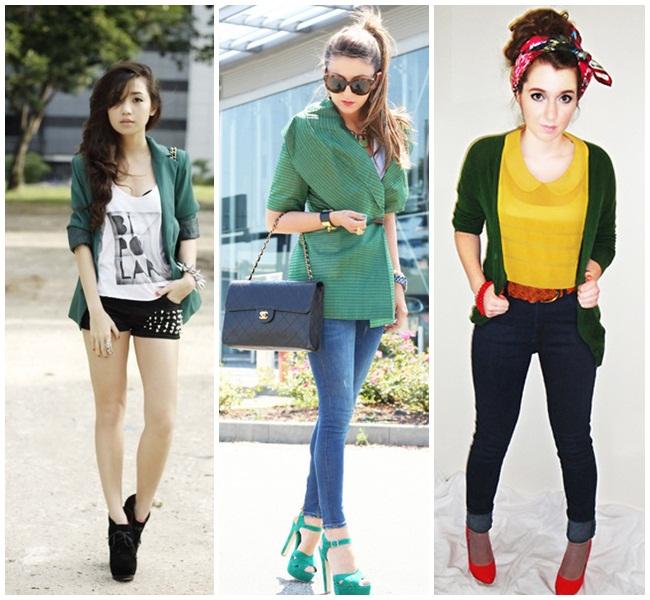 emerald - jacket