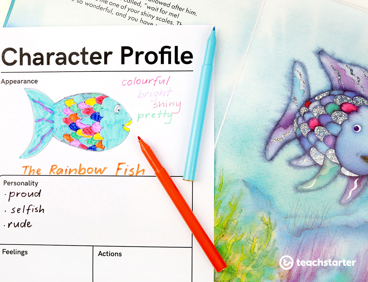 Fun Characterysis Activities For The Primary Classroom