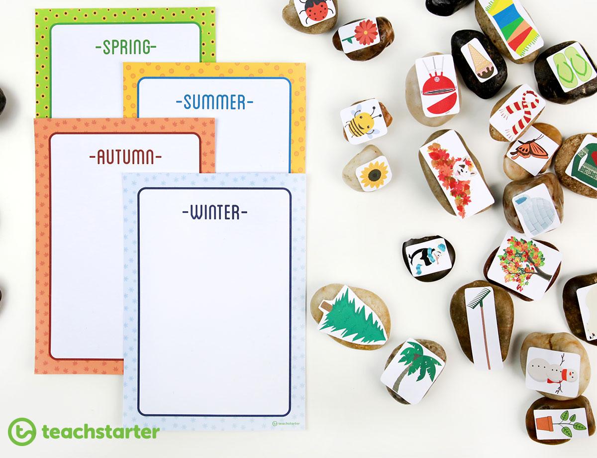 Fun Printable Seasons Activities For The Classroom
