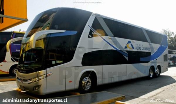 EV: Viaje en Buses Altas Cumbres GPGG34, Santiago a Constitución