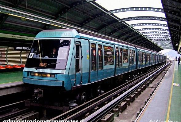 Metro de Santiago – Alstom NS93
