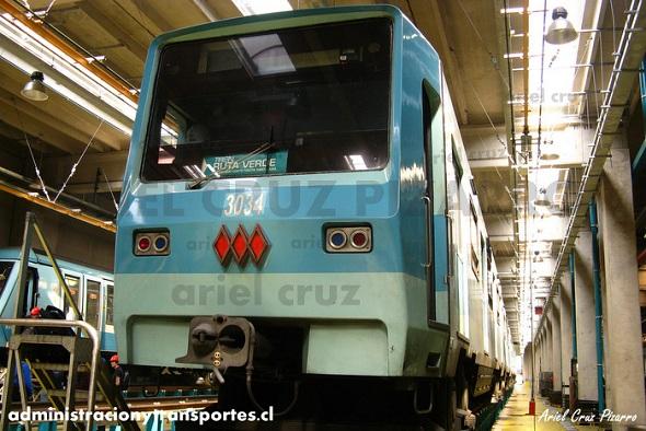 Visita a Talleres San Eugenio – Metro de Santiago (Parte 1)