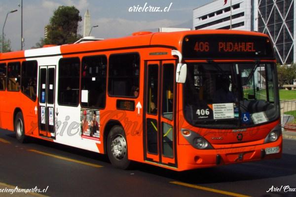 Marcopolo Gran Viale B2P Transantiago