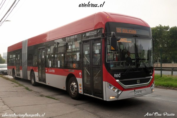 Recorrido 435 Santiago