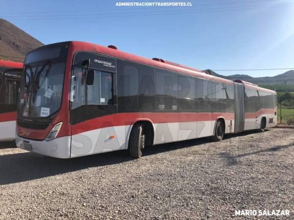 [Fotos] Algunos nuevos buses para Transantiago