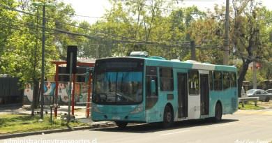 Fotos de buses 501 Transantiago
