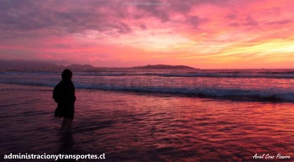 AV La Serena #1: Un bello atardecer en La Serena