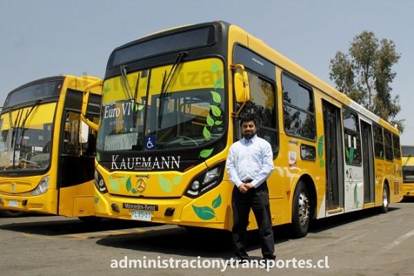 Cómo es el nuevo y ecológico bus Euro 6 Transantiago con Cristian Avendaño