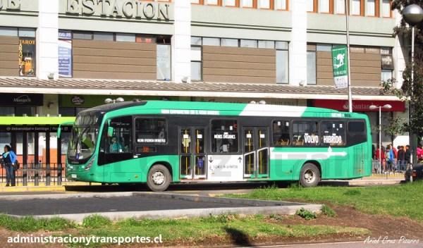 Transantiago | Marcopolo Viale BRS Híbrido – Volvo B215RH