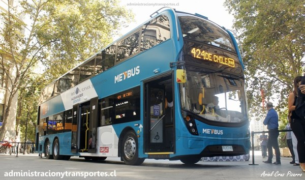 Todo sobre el nuevo Bus 2 pisos Transantiago