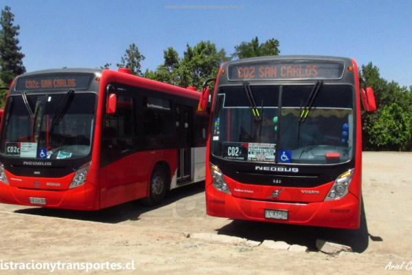 Transantiago | Visita al cabezal C02 San Carlos de Apoquindo (Enero 2018)