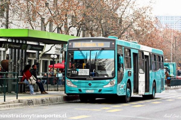 El top de recorridos con más demanda de Transantiago