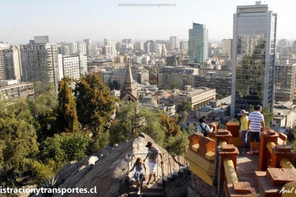 AV Santiago de Chile #11 – Paseo en Cerro Santa Lucía