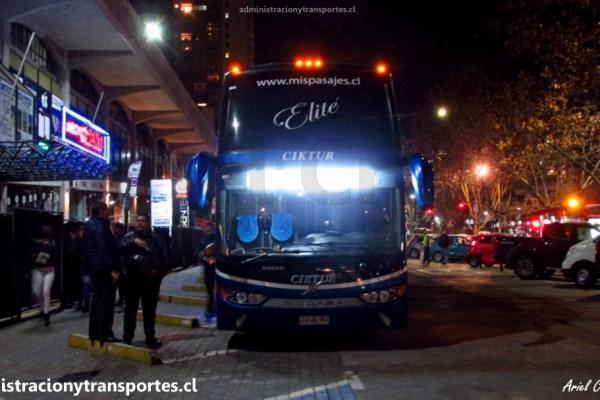 EV: Viaje en Ciktur Elité JJJC82, Las Condes a La Serena