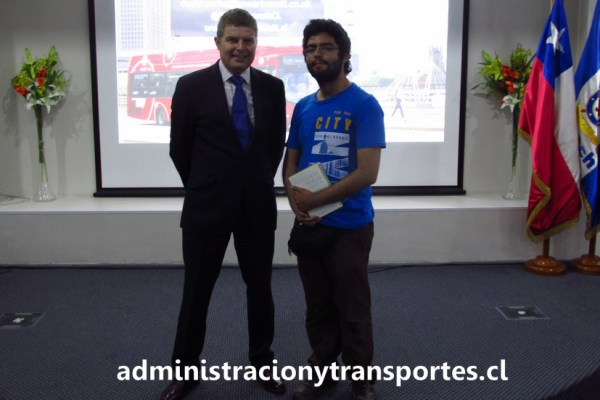 David Yorke en Chile: la experiencia con los buses ecológicos