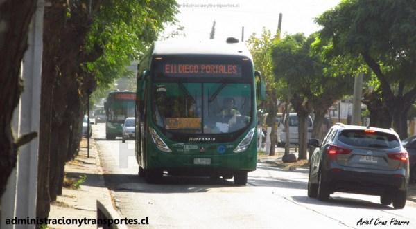 CU01 – Corredor Vicuña Mackenna en 213e / Bus Híbrido en E11 y más